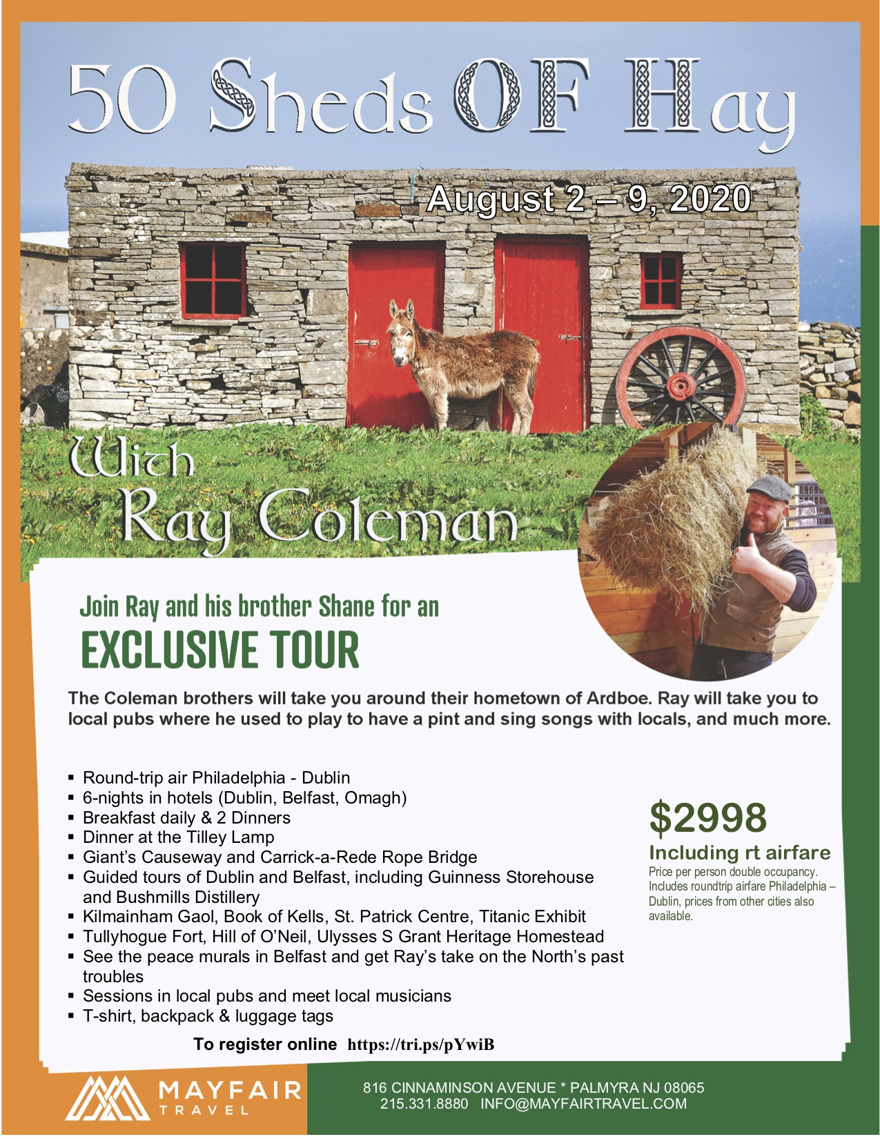 50 Sheds of Hay Tour of Ireland